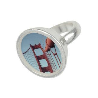 ゴールデンゲートブリッジ、サンフランシスコのユニークな写真 リング