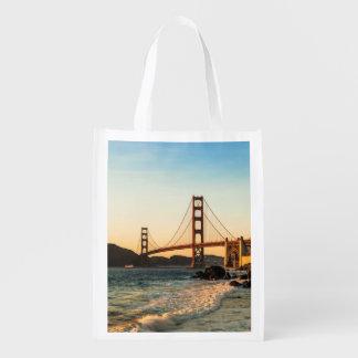 ゴールデンゲートブリッジ、サンフランシスコ エコバッグ
