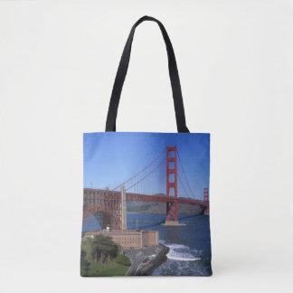 ゴールデンゲートブリッジ、サンフランシスコ、カリフォルニア7 トートバッグ