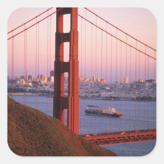 ゴールデンゲートブリッジ; サンフランシスコ; カリフォルニア; スクエアシール