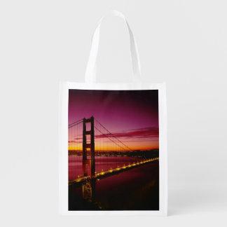 ゴールデンゲートブリッジ、サンフランシスコ、カリフォルニア、5 エコバッグ
