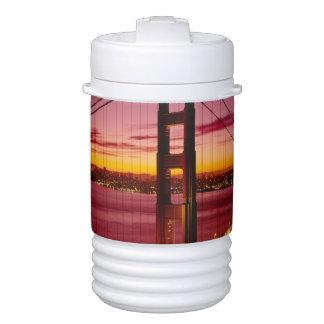 ゴールデンゲートブリッジ、サンフランシスコ、カリフォルニア、5 ドリンククーラー