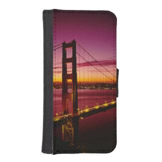 ゴールデンゲートブリッジ、サンフランシスコ、カリフォルニア、5 iPhoneSE/5/5sウォレットケース