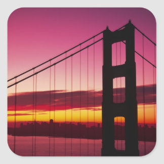 ゴールデンゲートブリッジ、サンフランシスコ、カリフォルニア、6 スクエアシール