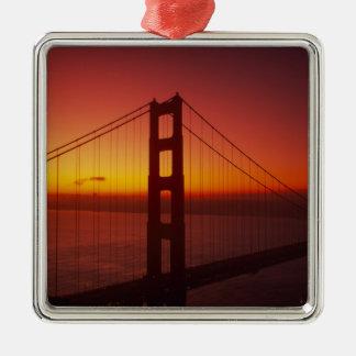 ゴールデンゲートブリッジ、サンフランシスコ、カリフォルニア、9 メタルオーナメント