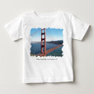ゴールデンゲートブリッジ、サンフランシスコ ベビーTシャツ
