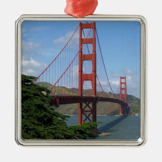 ゴールデンゲートブリッジ、サンフランシスコ メタルオーナメント