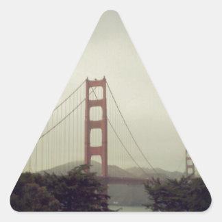 ゴールデンゲートブリッジ 三角形シール