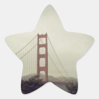 ゴールデンゲートブリッジ 星シール