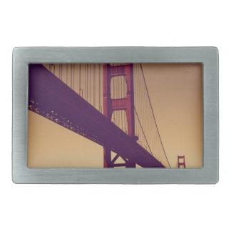 ゴールデンゲートブリッジ 長方形ベルトバックル