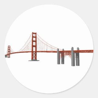 ゴールデンゲートブリッジ: 3Dモデル: ラウンドシール
