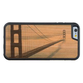 ゴールデンゲートブリッジ CarvedチェリーiPhone 6バンパーケース