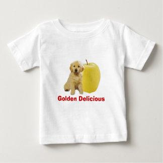 ゴールデンデリシャスの幼児のユニセックスなTシャツ ベビーTシャツ