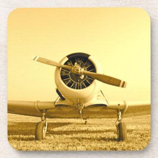 ゴールデンボーイの飛行機のプラスチックコースター(6) コースター