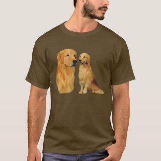 ゴールデン・リトリーバーのちょっと格好良いTシャツ Tシャツ
