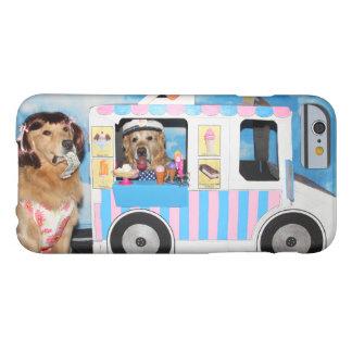 ゴールデン・リトリーバーのアイスクリームのトラック BARELY THERE iPhone 6 ケース