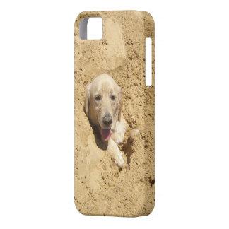 ゴールデン・リトリーバーのカムフラージュ Case-Mate iPhone 5 ケース