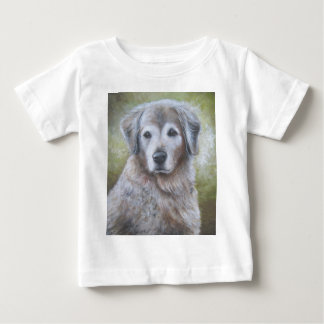 ゴールデン・リトリーバーのデザイン ベビーTシャツ