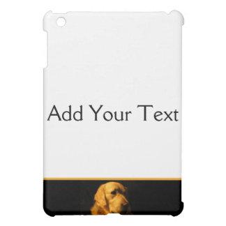 ゴールデン・リトリーバーのポートレート iPad MINIケース