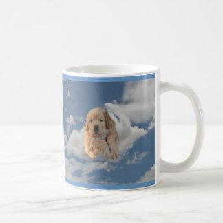 ゴールデン・リトリーバーのマグは私の子供4本の足を備えています コーヒーマグカップ