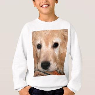 ゴールデン・リトリーバーの子犬 スウェットシャツ