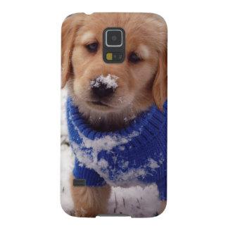 ゴールデン・リトリーバーの子犬 GALAXY S5 ケース