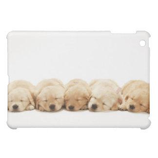 ゴールデン・リトリーバーの子犬 iPad MINIケース