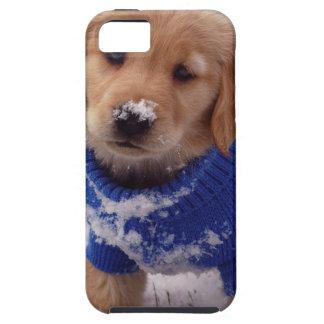 ゴールデン・リトリーバーの子犬 iPhone 5 ケース