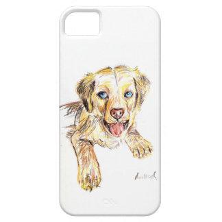 ゴールデン・リトリーバーの子犬 iPhone SE/5/5s ケース