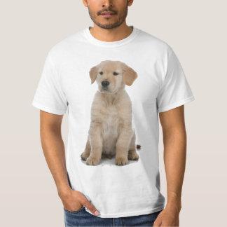 ゴールデン・リトリーバーの子犬 Tシャツ