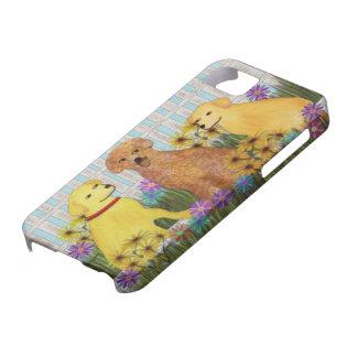 ゴールデン・リトリーバーの日光のIPhone 5の場合 iPhone 5 Case-Mate ケース