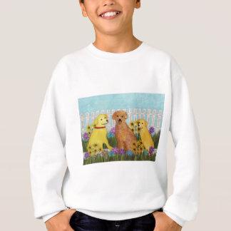 ゴールデン・リトリーバーの日光のTシャツ スウェットシャツ