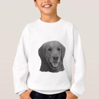 ゴールデン・リトリーバーの様式化されたイメージ スウェットシャツ