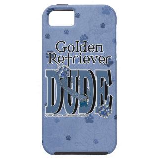 ゴールデン・リトリーバーの男 iPhone 5 COVER