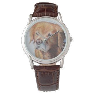 ゴールデン・リトリーバーの腕時計! ウオッチ