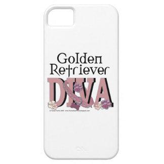 ゴールデン・リトリーバーの花型女性歌手 iPhone 5 CASE