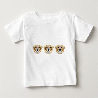 ゴールデン・リトリーバーのTシャツ ベビーTシャツ