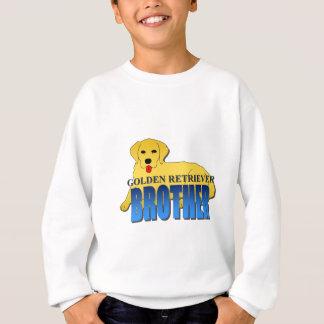 ゴールデン・リトリーバー犬の兄弟 スウェットシャツ