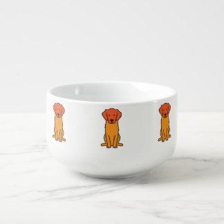 ゴールデン・リトリーバー犬の漫画 スープマグ