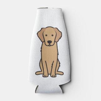 ゴールデン・リトリーバー犬の漫画 ボトルクーラー