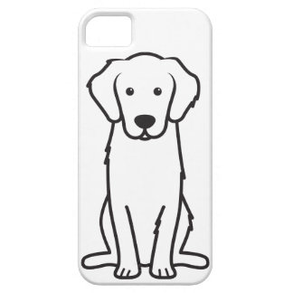 ゴールデン・リトリーバー犬の漫画 iPhone 5 ベアリーゼアケース