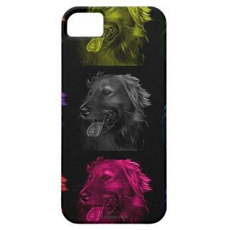 ゴールデン・リトリーバー犬の芸術 Case-Mate iPhone 5 ケース