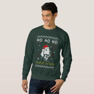 ゴールデン・リトリーバー犬の醜いクリスマスHo HO Ho スウェットシャツ