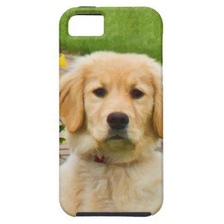ゴールデン・リトリーバー犬のiPhone 5のCase mateの場合 iPhone 5 タフケース