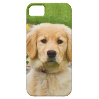 ゴールデン・リトリーバー犬 iPhone 5 ケース
