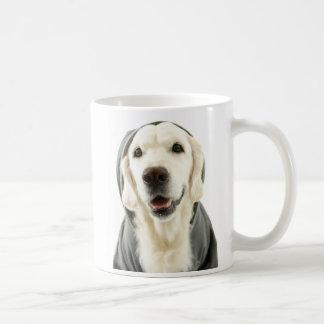 """ゴールデン・リトリーバー""""不精な日の感情""""のマグ- Haley コーヒーマグカップ"""