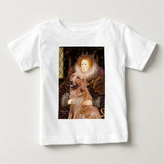 ゴールデン・リトリーバー#1 -エリザベス女王一世 ベビーTシャツ