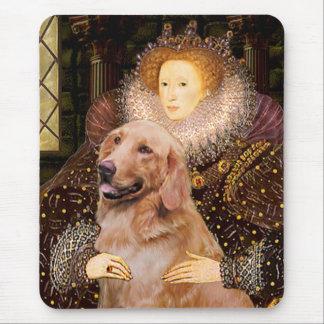 ゴールデン・リトリーバー#1 -エリザベス女王一世 マウスパッド