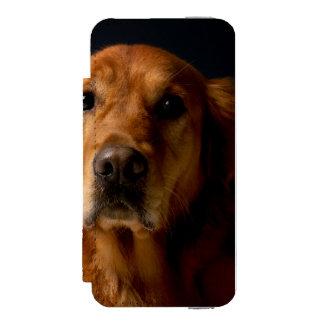 ゴールデン・リトリーバー iPhone SE/5/5sウォレットケース