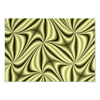 ゴールドラッシュのホログラムのフラクタル カード